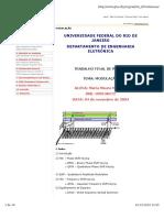 TRABALHO FINAL DE REDES I - Modulação