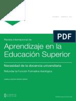 (pp. 55-63) Les14_48942_Necesidad en la docencia universitaria, refundar la función formativa axiologica