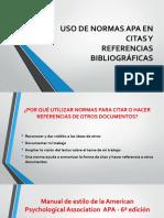 USO DE NORMAS APA EN CITAS Y REFERENCIAS BIBLIOGRÁFICAS.pdf