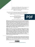Artículo Separación Parental y La Afectación en Los Niños 2018