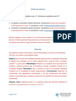 Plantilla Present Resumen