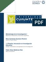 Nina Carmenza Guevara Romero_ Act 1.2 Innovación en Investigación Educativa