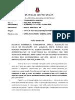 16 G 0050089-53.2016.8.05.0001 VOTO EMENTA  CONSUMIDOR BANCO SERVIÇOS BANCÁRIOS FATO CONSTITUTIVO DO DIREITO N PROVADO IMPROV.doc