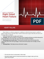 LEFT SIDED & RIGHT SIDED HEART FAILURE