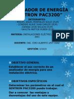 Analizador de Energía SENTRON PAC 3200 (Diapositivas), I-2019 [Autoguardado]