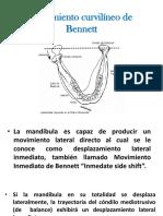 ángulo curvilíneo de Bennet