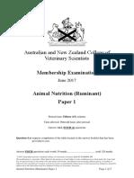 Animal Nutrition Ruminant