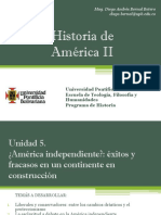Unidad 5 América Independiente (Avances)