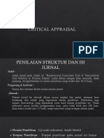 PPT Critical Appraisal