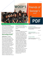 swoops fall newsletter
