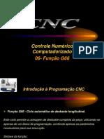 Aulas 06 - CNC- Função G66-Ciclo Automático de Desbaste Longitudinal