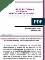 Nulidad de Elección Distrito Federal 11-Sept