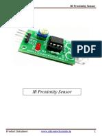 IR Proximity Sensor Datasheet