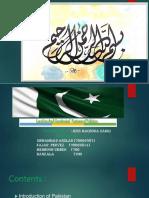 Presentation of Pak Study