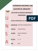 AUDITORIA GUBERNAMENTAL - INFORMES