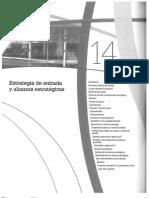 Estrategias de entrada y alianzas estratégicas (Hill,2007)