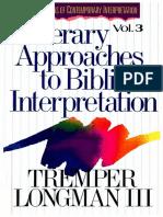 Longman_literary Approaches to Biblical Interpretation