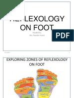 Reflexology on Foot Ppt