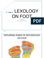 Reflexology on Foot Ppt