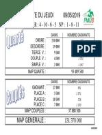 Resultats engine PMU