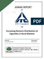 ITC Training Report Report