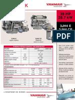 3jh4 - 39 Cv - Ligne Arbre & Sail-drive