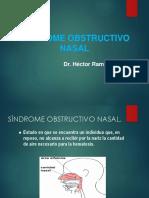 3.- Sind. Nasal Obstructivo