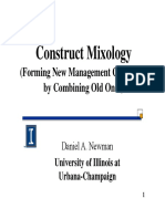 Construct Mixology