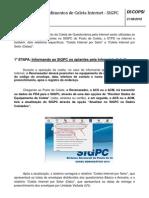 Procedimento Coleta Internet SIGPC