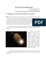 Anatomia de un marciano