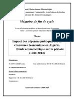 Impact des dépenses publiques sur la croissance économique en Algérie..pdf