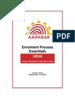 Enrollment Process Essential