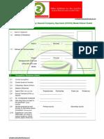 Zevik Petroleum & Gas (Zevik Urja)Application for COCO Model Retail Outlet