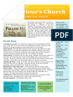 st saviours newsletter - 12 may 2019 -  easter iv