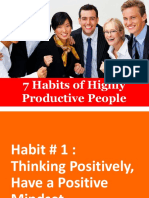 Seven Habits of Highly Productive People