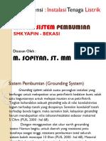 Materi Sistem Pembumian