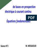 2. Méthodes électriques