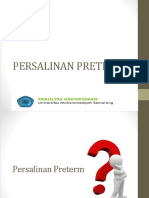 Persalinan Preterm 2019