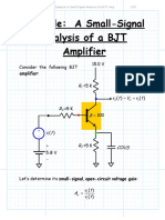 Example A Small Signal Analysis of a BJT Amp.pdf