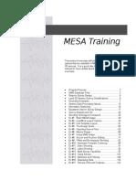 Mesa Training Manual