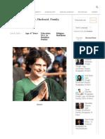 Priyanka Gandhi Age, Husband, Family, Biography, & More .pdf