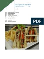 New Sandwich Menu Pics & Recipes