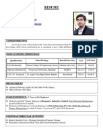 Shoeb's RESUME 2 WE
