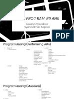 Studi Program Ruang