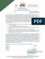 Afghanite USACE Certificate