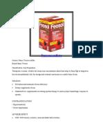 Ferrous Sulfate and Nifepedine