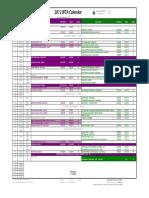 Calendario WTA 2012