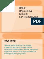Bab 2 Persaingan Strategy Dan Produktivitas2