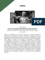 Propio de San Luis Maria de Monfort
