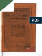 Stratégie raisonnée des ouvertures du jeu d'échecs par l'abbé Durand, Louis Metton et Jean Preti